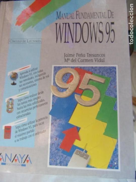 MANUAL FUNDAMENTAL DE WINDOWS 95- JAIME PEÑA TRESANCOS Y MA DEL CARMEN VIDAL (Libros de Segunda Mano - Informática)