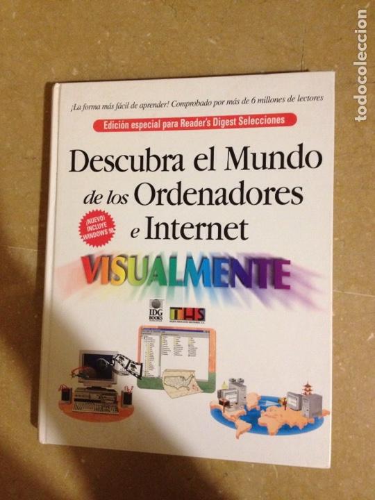 DESCUBRA EL MUNDO DE LOS ORDENADORES E INTERNET VISUALMENTE (READER'S DIGEST SELECCIONES) (Libros de Segunda Mano - Informática)
