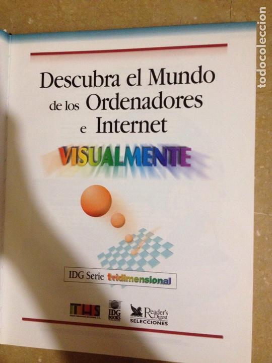 Libros de segunda mano: Descubra el mundo de los ordenadores e Internet visualmente (Reader's Digest Selecciones) - Foto 2 - 139776698