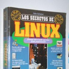 Libros de segunda mano: LOS SECRETOS DEL LINUX ( SIN CD ROM) *** LIBRO INFORMÁTICA *** EDICIONES ANAYA (1997). Lote 140396310