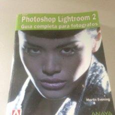Libros de segunda mano: PHOTOSHOP LIGHTROON 2. Lote 141724146