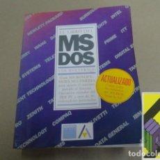Libros de segunda mano: WOLVERTON, VAN: EL LIBRO DEL MS-DOS. Lote 142032594