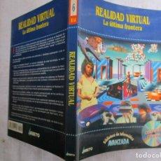 Livros em segunda mão: INFORMATICA - REALIDAD VIRTUAL LA ULTIMA FRONTERA - EDI ABETO1996 192PAG, CD ROM INC. COMO NUEVO. 1S. Lote 142363082
