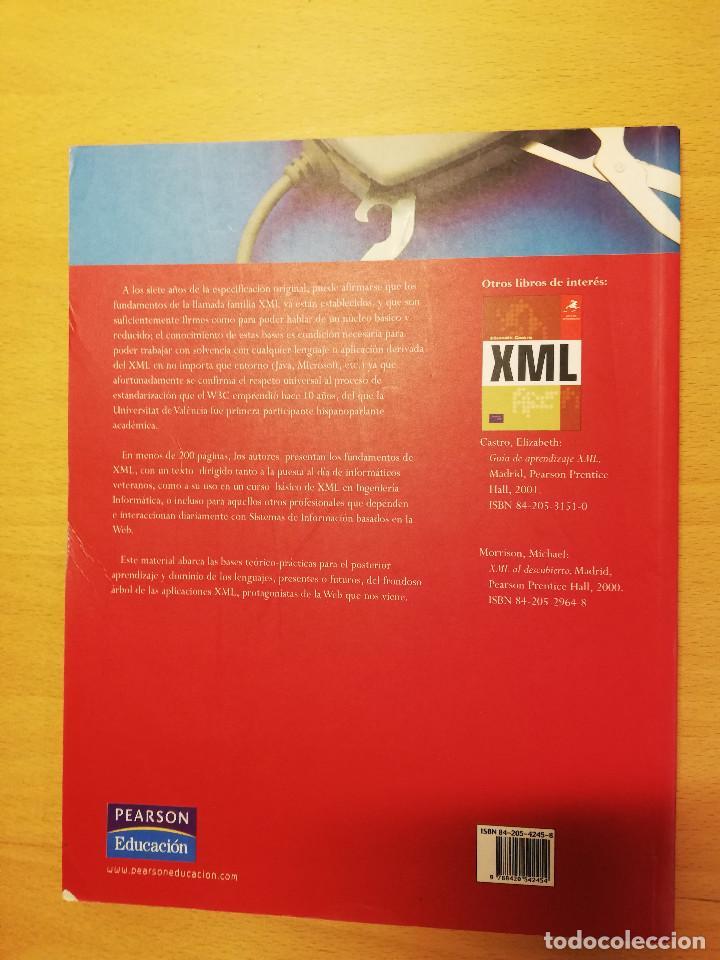 Libros de segunda mano: CURSO DE XML. INTRODUCCION AL LENGUAJE DE LA WEB (GREGORIO MARTÍN, ISABEL MARTIN) PEARSON - Foto 8 - 142468254