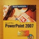 Libros de segunda mano: MANUAL IMPRESCINDIBLE MICROSOFT OFFICE POWER POINT 2007 (INCLUYE CD). Lote 142472454