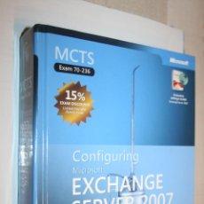 Libros de segunda mano: EXCHANGE SERVER 2007 (TRAINING KIT) *** LIBRO DE INFORMÁTICA MICROSOFT *** TOMO CON 855 PÁGINAS. Lote 142701030