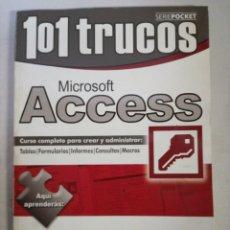 Libros de segunda mano: 101 TRUCOS MICROSOFT ACCESS. Lote 143062088