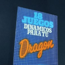 Libros de segunda mano: 18 JUEGOS DINAMICOS PARA TU DRAGON / ED. NORAY 1ª ED. / P. MONSAUT 1985 / SIN USAR. Lote 143074994