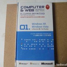 Libros de segunda mano: COMPUTER & WEB EL CURSO DEFINITIVO Nº 1. Lote 143149526