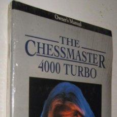 Libros de segunda mano: THE CHESSMASTER 4000 TURBO - CD-ROM *. Lote 143179694