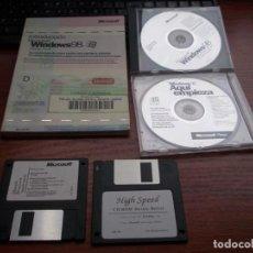 Libros de segunda mano: INTRODUCCIÓN MICROSOFT WINDOWS 98, DOS CD Y DOS DISQUETTES. Lote 143684794