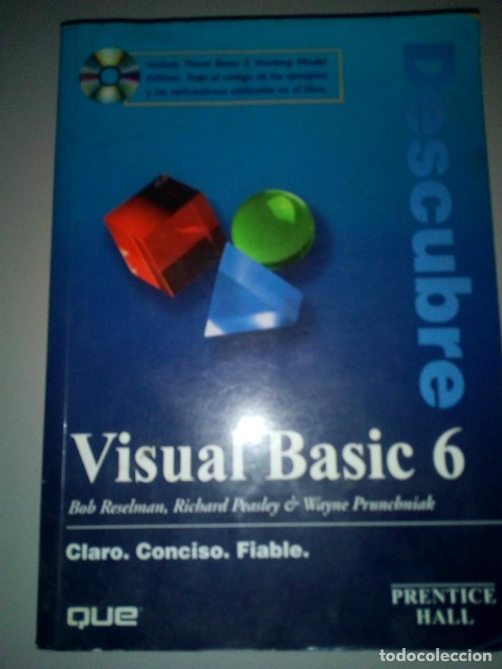 VISUAL BASIC 6 PRENTICE HALL (Libros de Segunda Mano - Informática)