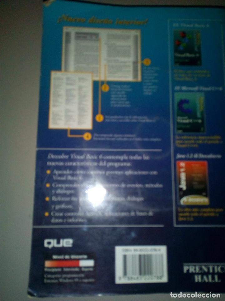 Libros de segunda mano: VISUAL BASIC 6 PRENTICE HALL - Foto 2 - 143726098