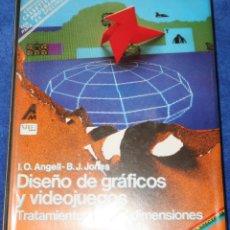 Libros de segunda mano: ZX SPECTRUM - DISEÑO DE GRÁFICOS Y JUEGOS - TRATAMIENTO EN 3 DIMENSIONES - ANAYA MULTIMEDIA (1985). Lote 144520194