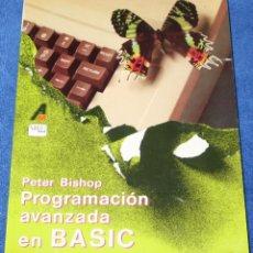 Libros de segunda mano - Programación avanzada en BASIC - Peter Bishop - Anaya Multimedia (1985) - 144520306