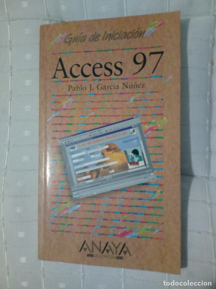 ACCESS 97 (Libros de Segunda Mano - Informática)