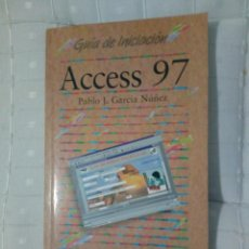 Libros de segunda mano: ACCESS 97. Lote 145330194