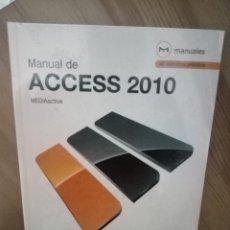 Libros de segunda mano: ACCESS 2010. Lote 145334254