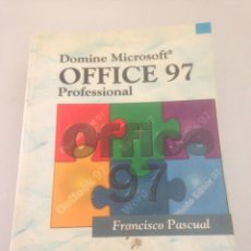 Libros de segunda mano: MICROSOFT OFFICE PROFESIONAL RAMA FRANCISCO PASCUAL 1997. Lote 146308716