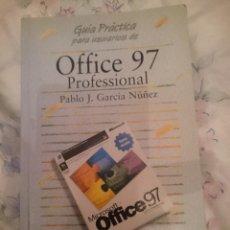 Libros de segunda mano: OFFICE 97 PROFESSIONAL - GUIA PRACTICA PARA USUARIOS -AÑO 1998 . Lote 146591774