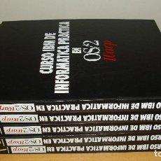 Libros de segunda mano: CURSO IBM DE INFORMÁTICA PRÁCTICA EN OS/2 WARP COMPLETO 5 TOMOS AÑOS 90. Lote 147143478