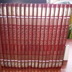 Livros em segunda mão: GRAN ENCICLOPEDIA INFORMÁTICA, 18 TOMOS. EDICIONES NUEVA LENTE 1.986. VER FOTOS ÍNDICES DE LOS TOMOS. Lote 148740326