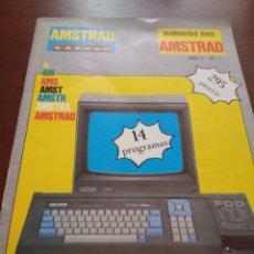 Libros de segunda mano: REVISTA AMSTRAD ESPAÑA. AMIGOS DEL AMSTRAD. AÑO 1, NÚMERO 1. Lote 148789633