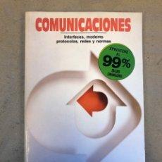 Libros de segunda mano: COMUNINACIONES (INTERFACES, MODEMS, PROTOCOLOS, REDES Y NORMAS). JOSÉ Mª HUIDOBRO.ED. PARANINFO 1990. Lote 148929805