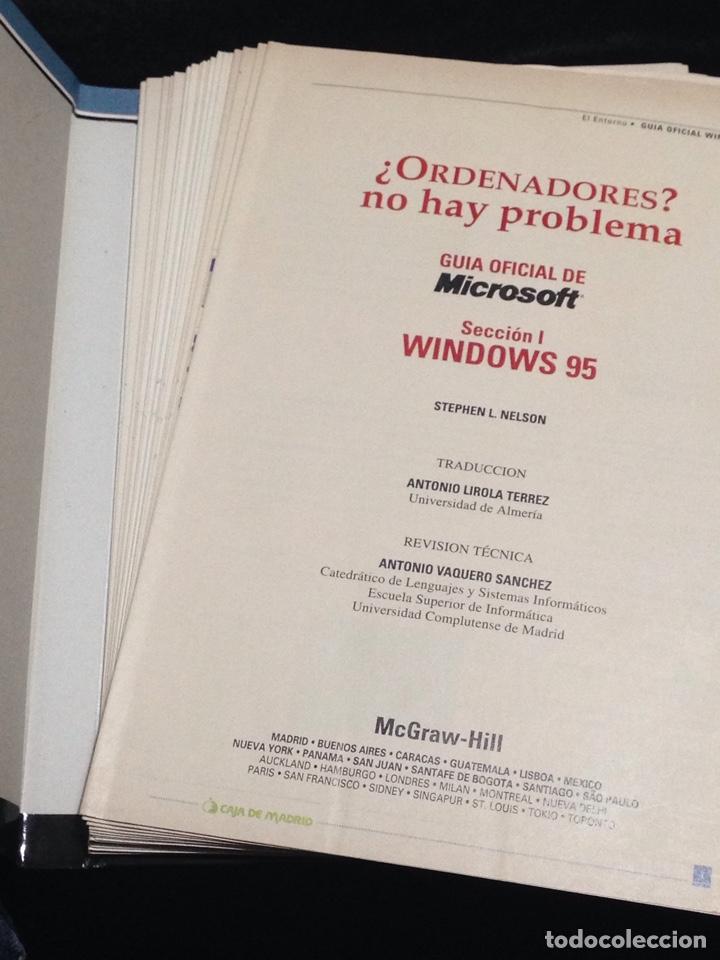 Libros de segunda mano: Ordenadores?,no hay problema,windows 95,office 97,Internet e Infovia,Tomo I. - Foto 2 - 149189506