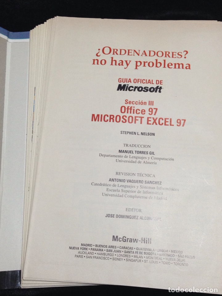 Libros de segunda mano: Ordenadores?,no hay problema,Windows 95,Office 97,Internet y Infovia-Tomo II. - Foto 2 - 149189906