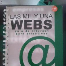 Libros de segunda mano: LAS MIL Y UNA WEBS - N 5 - FEBRERO 2002 . Lote 150767078