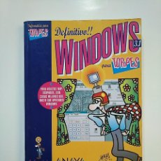 Libros de segunda mano: WINDOWS 3.1 PARA TORPES. MOURELLE, - JOSE MARIA. - ANAYA MULTIMEDIA. ILUSTRACIONES FORGES. TDK362. Lote 151077430