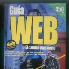 Libros de segunda mano: GUIA WEB NUMERO CON MAS DE 10,000 DIRECCIONES WEBS. Lote 151126606