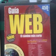 Libros de segunda mano: GUIA WEB NUMERO CON MAS DE 5,000 DIRECCIONES WEBS. Lote 151128722