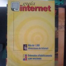 Libros de segunda mano: GUIA INTERNET MAS DE 1000 DIRECCIONES DE INTERNET. Lote 151146926