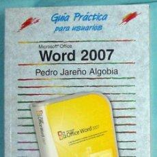 Libros de segunda mano: WORD 2007 - PEDRO JAREÑO ALGOVIA - ANAYA 2007 - VER DESCRIPCIÓN. Lote 151384022