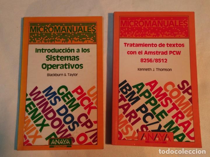 INTRODUCCION A LOS SISTEMAS OPERATIVOS Y TRATAMIENTOS DE TEXTOS CON AMSTRAD PCW 8256/8512 (Libros de Segunda Mano - Informática)