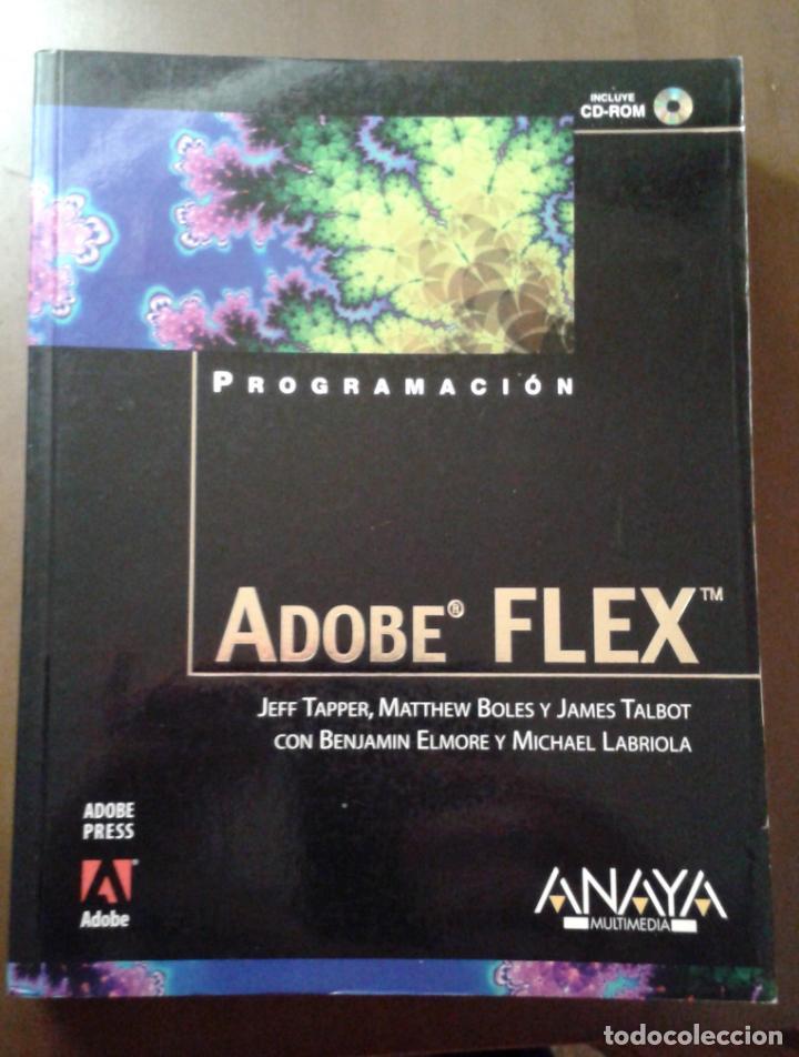 PROGRAMACIÓN ADOBE FLEX. ANAYA MULTIMEDIA. JEFF TAPPER (Libros de Segunda Mano - Informática)