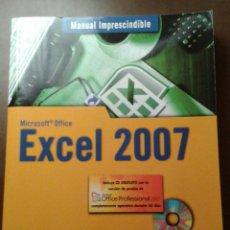 Libros de segunda mano: MANUAL IMPRESCINDIBLE. MICROSOFT OFFICE EXCEL 2007. ANAYA MULTIMEDIA. CLAUDIA VALDÉS-MIRANDA.. Lote 153263314