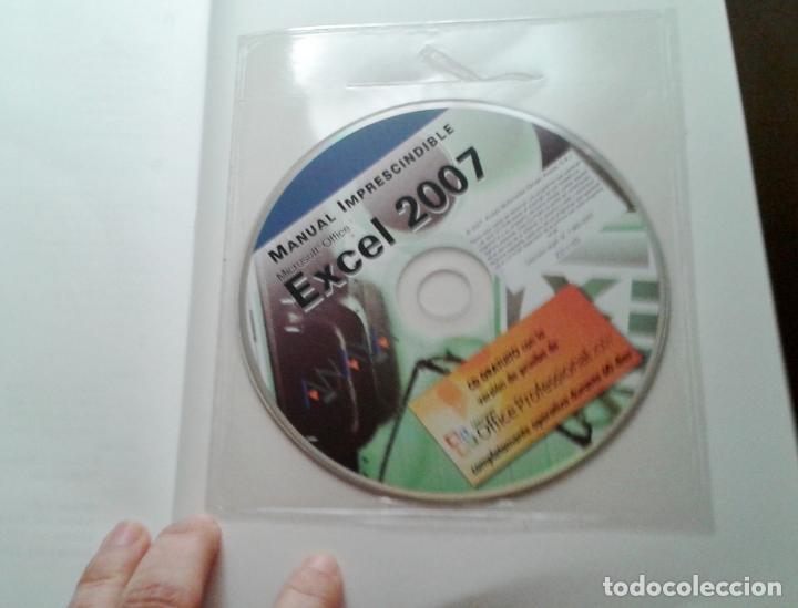 Libros de segunda mano: MANUAL IMPRESCINDIBLE. MICROSOFT OFFICE EXCEL 2007. ANAYA MULTIMEDIA. CLAUDIA VALDÉS-MIRANDA. - Foto 2 - 153263314