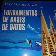 Libros de segunda mano: FUNDAMENTOS DE BASES DE DATOS. Lote 153391090