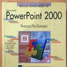 Libros de segunda mano: POWERPOINT 2000. Lote 153540614