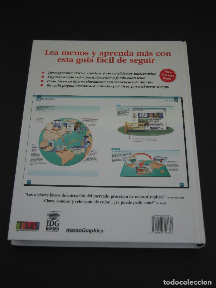 Libros de segunda mano: Descubra el Mundo de los Ordenadores e Internet Visualmente - 1999 - 320 pàg. - Tamaño 28.6x22.1 cm. - Foto 2 - 154802922
