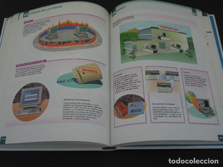 Libros de segunda mano: Descubra el Mundo de los Ordenadores e Internet Visualmente - 1999 - 320 pàg. - Tamaño 28.6x22.1 cm. - Foto 5 - 154802922