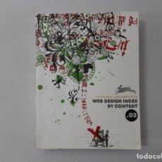 Libros de segunda mano: WEB DESIGN INDEX BY CONTENT.03. Lote 154991436