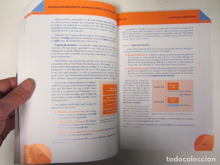 Libros de segunda mano: Sistemas informáticos monousuario y multiusuario. Ra-Ma editorial 2007. 557 páginas - Foto 6 - 155133522