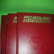 Libros de segunda mano: ENCICLOPEDIA PC SOUND STUDIO - 3 TOMOS - 2002. Lote 155225290