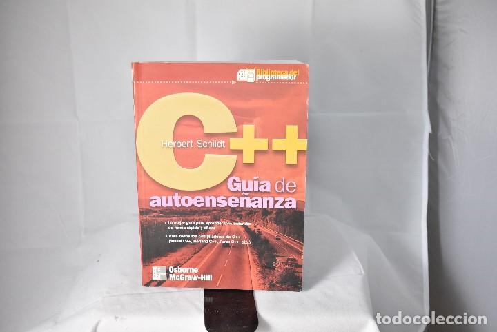 C++ GUIA DE AUTOENSEÑANZA. HERBERT SCHILDT. OSBORNE MC GRAW HILL. ESPAÑA 2001 (Libros de Segunda Mano - Informática)