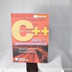 Libros de segunda mano: C++ GUIA DE AUTOENSEÑANZA. HERBERT SCHILDT. OSBORNE MC GRAW HILL. ESPAÑA 2001. Lote 155727406