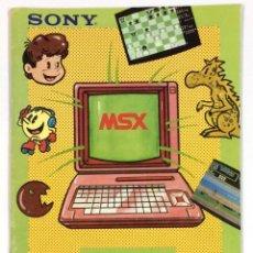 Libros de segunda mano: REVISTA MSX CLUB SONY . Lote 156071278